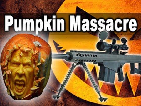 50 Cal Pumpkin Massacre!