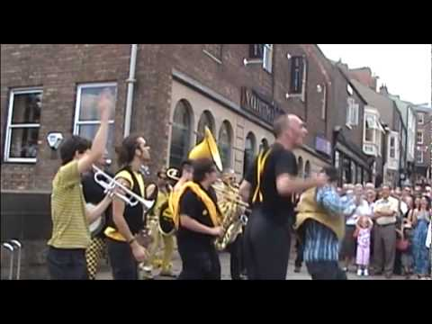 Rage Against The Machine - Killing in the Name - Always Drinking Marching Band in Durham