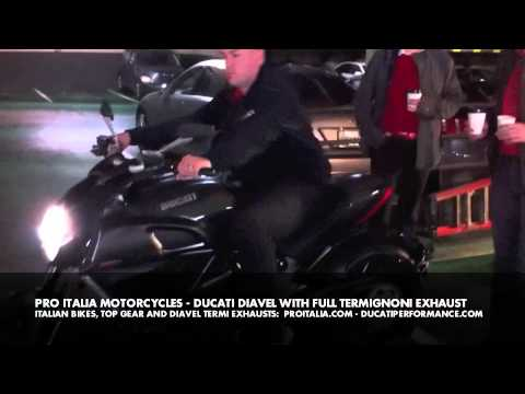 Ducati Diavel with Termignoni Full System