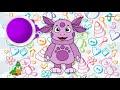 Фрагмент с средины видео - Мультик - РАСКРАСКА. Рисуем ЛУНТИКА и Учим Цвета - Развивающее видео для детей