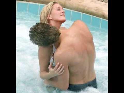 Hot Blonde in Swimming Pool