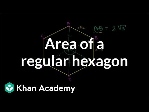 Area of a Regular Hexagon