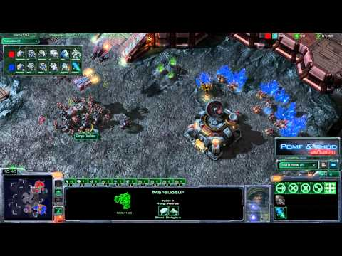 (HD205) SarenS vs EmpireDiestar  - TvT  - Starcraft 2 Replay [FR]