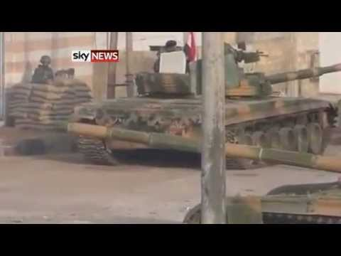 Free Syria Army take Battle To Assad
