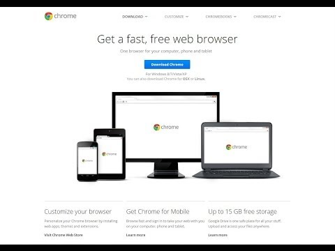 Google Chrome: Download and Install