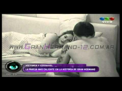 Ezequiel y Victoria se matan teniendo sexo al lado - Gran Hermano 2012 Argentina