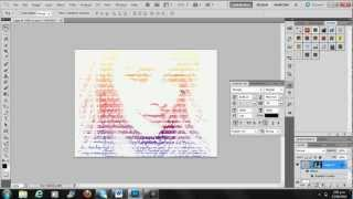 Photoshop tutorial text photo effect¦HD