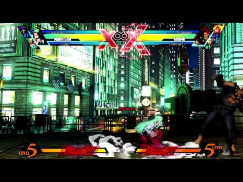 UMvC3 - Morrigan Guide - Mobility - Mixups, Resets, and More w/ Commentary