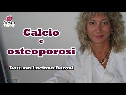 Calcio e osteoporosi - Dott.ssa Luciana Baroni