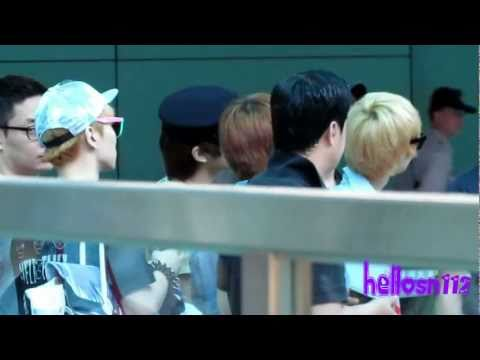 110717 SHINee Departure Part 1@Taiwan Taoyuan International Airport