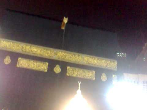 Ta-waaf in the blessed rain of Mecca 18th March 2011
