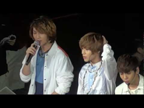 [FANCAM] 120520 SMTOWN SHINee TALK