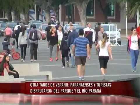 Días de calor en Paraná, veranito en julio