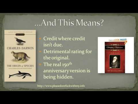 Ray Comfort's 'Origin Of Species' Confuses Amazon