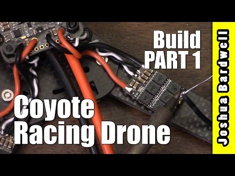HOW TO BUILD A QUADCOPTER   AllCarbonRC Coyote   Part 1 - UCX3eufnI7A2I7IkKHZn8KSQ