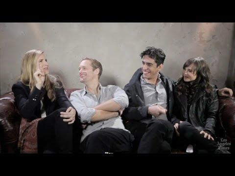 Brit Marling, Alexander Skarsgard, Ellen Page, Zal Batmanglij on 'The East': Sundance Film Festival
