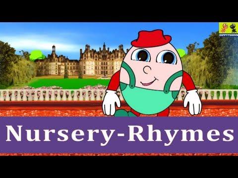 Nursery Rhymes   Humpty Dumpty Sat On A Wall   Kids Songs With Lyrics