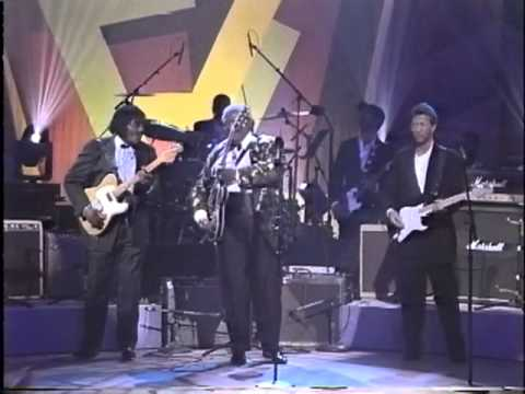 BB King, Jeff Beck, Eric Clapton, Albert Collins & Buddy Guy - Apollo Theater 1993 Part 2