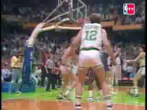 NBA's 60 Greatest Playoff Moments #4: Larry Bird steals the inbound