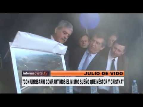 <b>Julio de Vido en Entre R�os: </b>&quot;Me parece muy bueno que Urribarri sea candidato&quot;