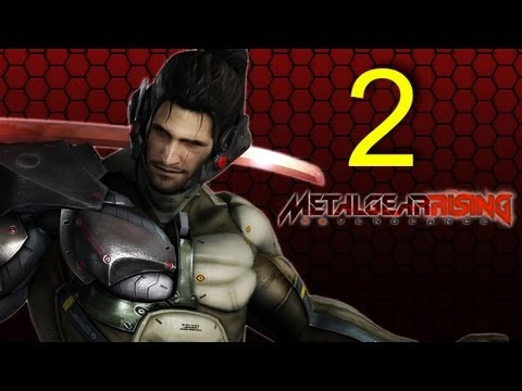 Metal Gear Rising Revengeance - Jetstream SAM DLC walkthrough part 2 let's play gameplay HD PS3 XBOX