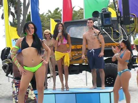 Jessie Camacho behind Telemundo-s Descontrol TV Show