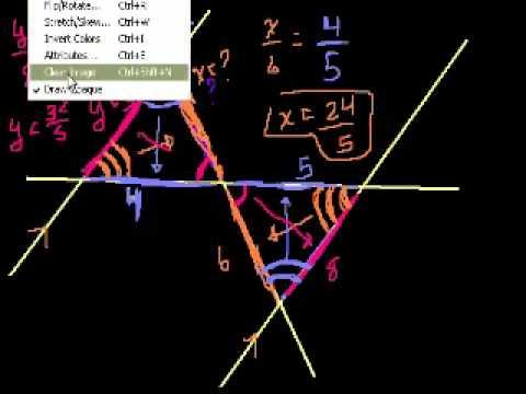Triangoli Simili Parte 2
