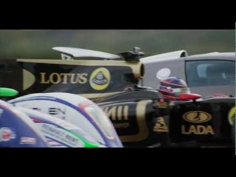 Lotus renault GP - 0-300 KM/H - Time trial