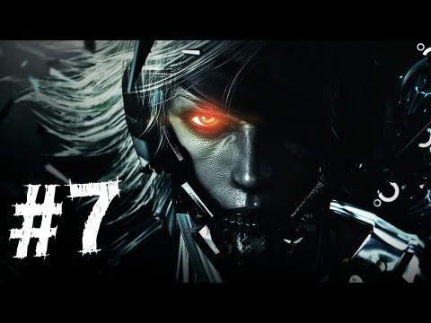 Metal Gear Rising Revengeance Gameplay Walkthrough Part 7 - The Box - Mission 3