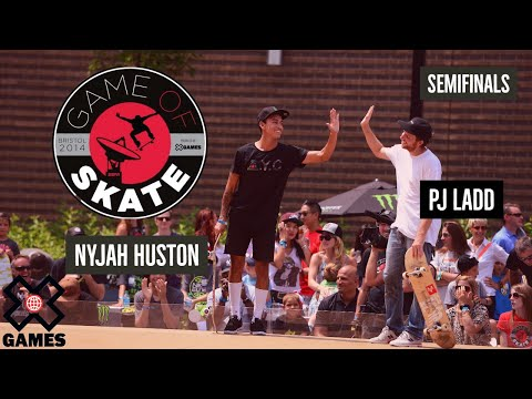 PJ Ladd vs. Nyjah Huston Game of Skate Semis - X Games - UCxFt75OIIvoN4AaL7lJxtTg
