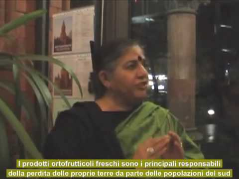 Vandana Shiva sul ruolo del Movimento della Transizione SUB ITA