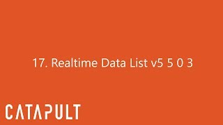Realtime Data List