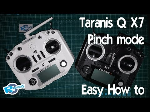 Taranis Q X7 Pinching Mode - no soldering or cutting easy how to - UCv2D074JIyQEXdjK17SmREQ