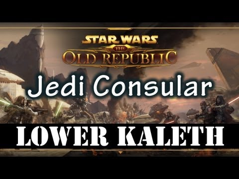 SWTOR Beta - Tython Lower Kaleth (Jedi Consular Gameplay)