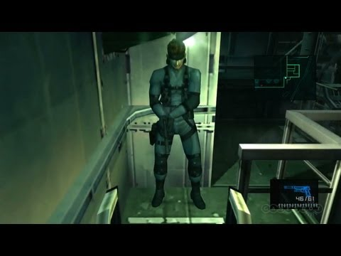 Sneaking Snake - Metal Gear Solid HD Collection Gameplay (Xbox 360)
