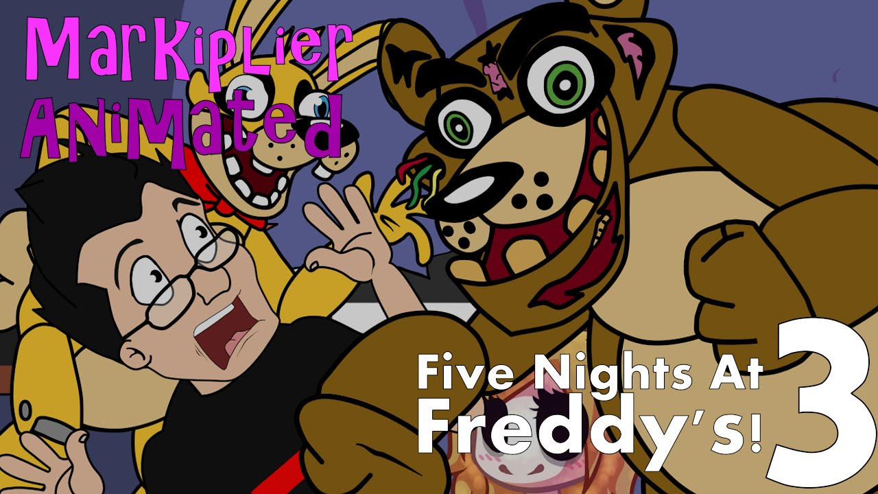 Markiplier Animated - Five Nights At Freddy's 3 (FNAF Funny Moments)