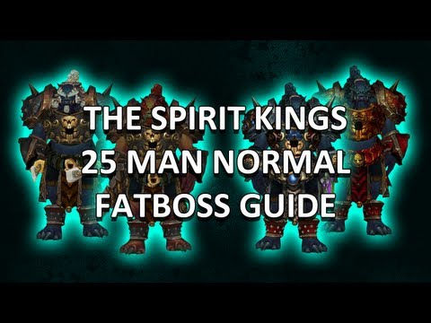 The Spirit Kings 25 Man Normal Mogu'shan Vaults Guide - FATBOSS