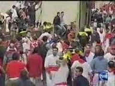 Encierro San Fermín - 12 de Julio de 2004