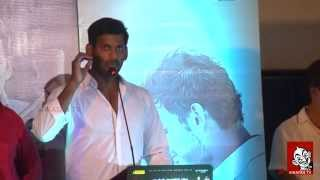 Watch Am not doing any favour for political intent - Vishal | Paayumpuli audio launch Red Pix tv Kollywood News 04/Aug/2015 online