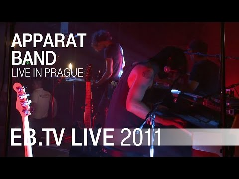Apparat Band live in Prague (2011)