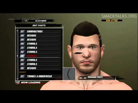 WWE '12 Alex Shelley CAW Formula by L83property