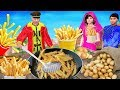 फ्रेंच फ्राइज French Fries Hindi Kahaniya   Bedtime Moral Stories   Panchtantra Fairy Tales 3D
