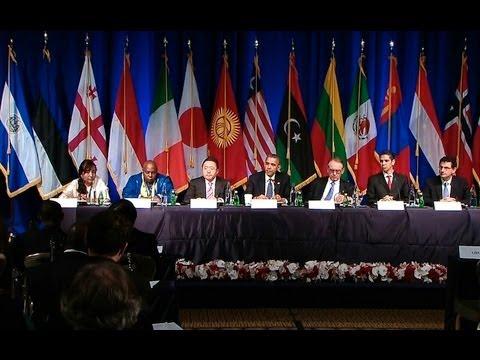 President Obama Holds a Civil Society Roundtable. 9/24/13