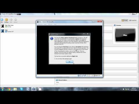 How To Run Mac OSX Lion In VirtualBox 1080p