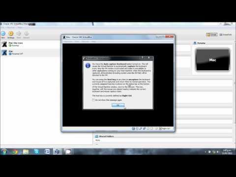 How To Run Mac OSX Lion In VirtualBox 1080p