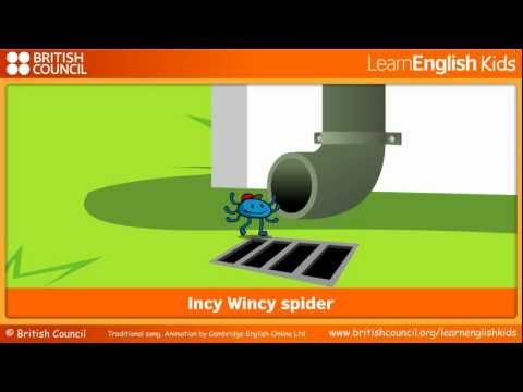 Incy Wincy spider | Nursery Rhymes & Songs | LearnEnglish Kids | British Council