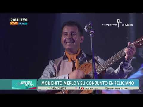 Monchito Merlo deleitó al público en Feliciano