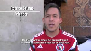 Xolotizcuintles players Amando Moreno, Esteban Rodriguez, Rodrigo Salinas and Carlos Guzman give their picks for the Mexico vs. U.S. showdown.