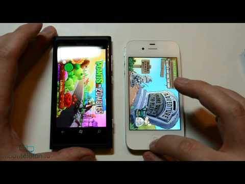 Nokia Lumia 800 vs iPhone 4S vs Sony Ericsson Xperia Neo (test &amp; comparison)