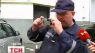 В Киеве горел Maserati Милевского